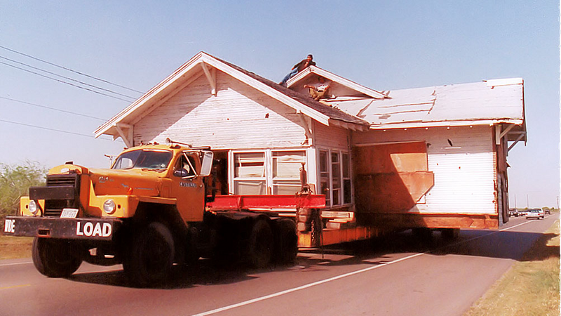 Moving a whole house