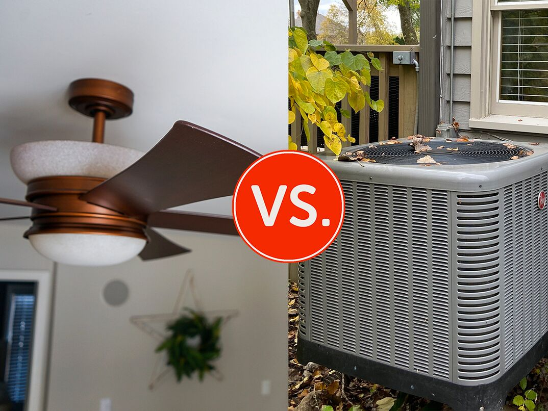 Which is cheaper to run ceiling fans or the air conditioner