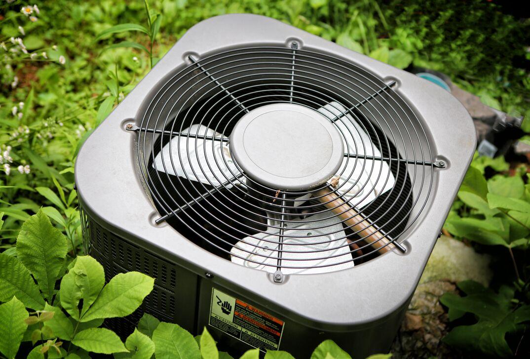 exterior air conditioning unit