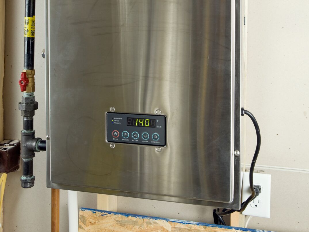 Residential Condensing Hybrid Tankless Water Heater