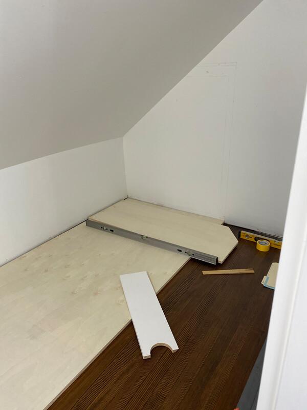 pre renovation closet