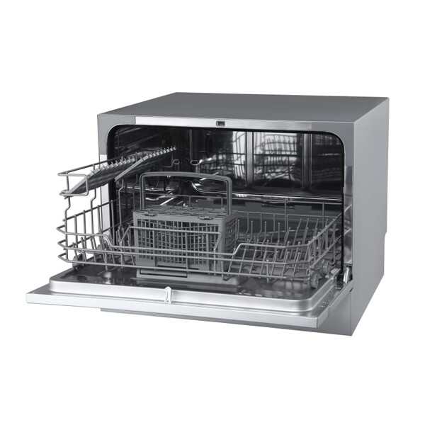 a manufacturer supplied photo of an EdgeStar Countertop Dishwashers