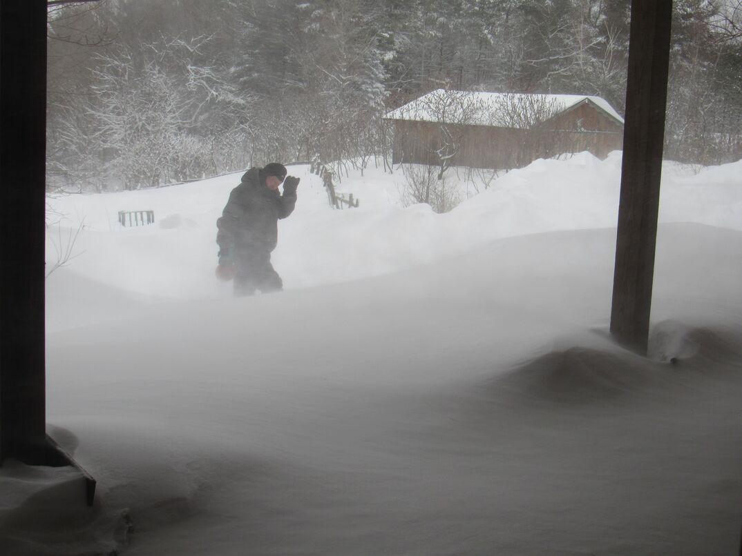 Snow storm Uri