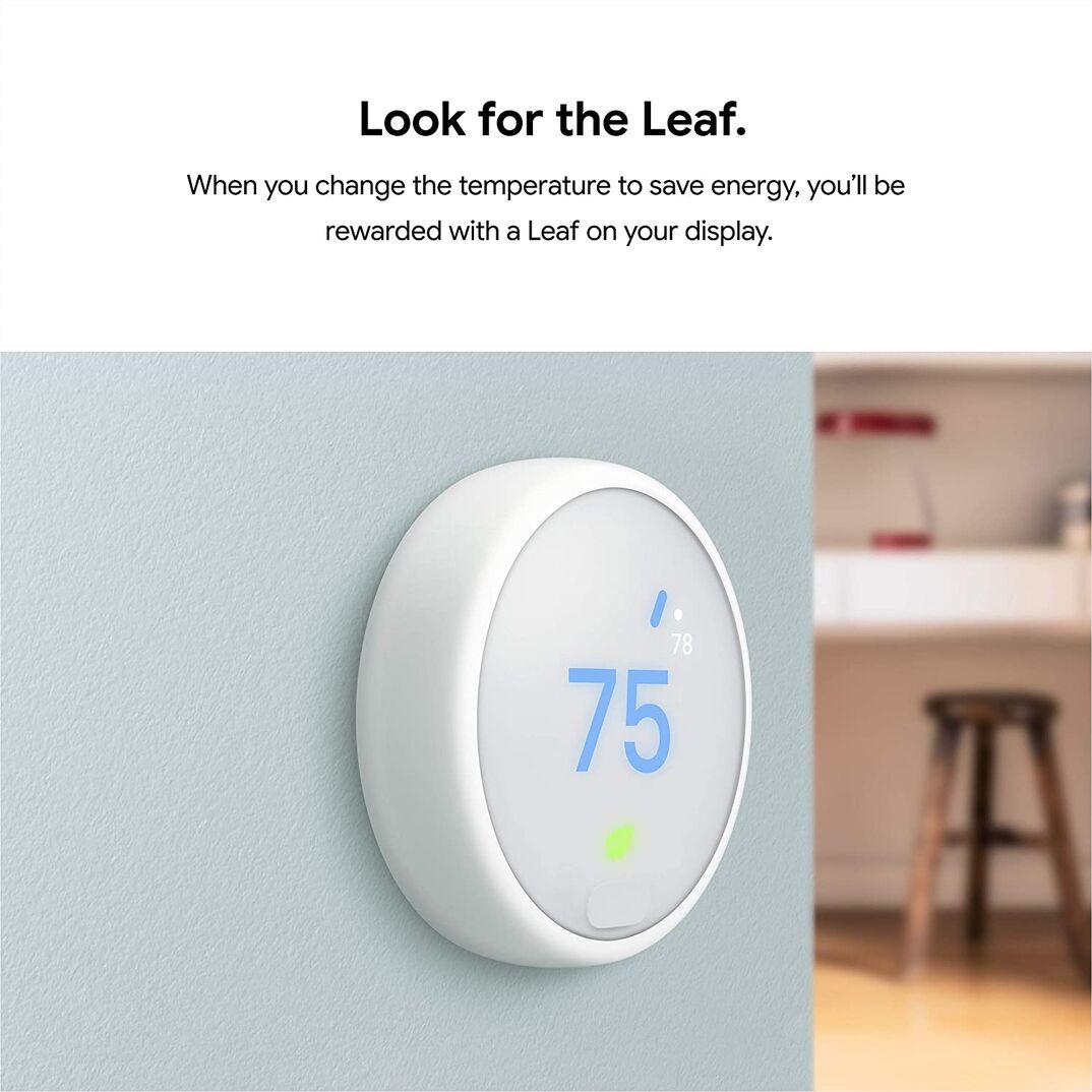 Google Nest smart thermostat