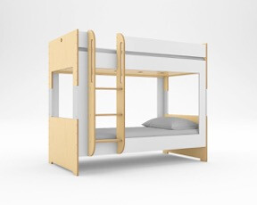 illustration of a bunk bed