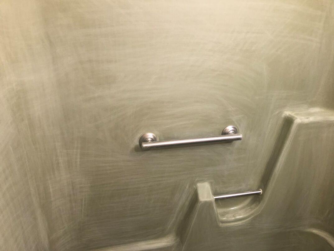 bathroom bathtub re-glazing-DURING