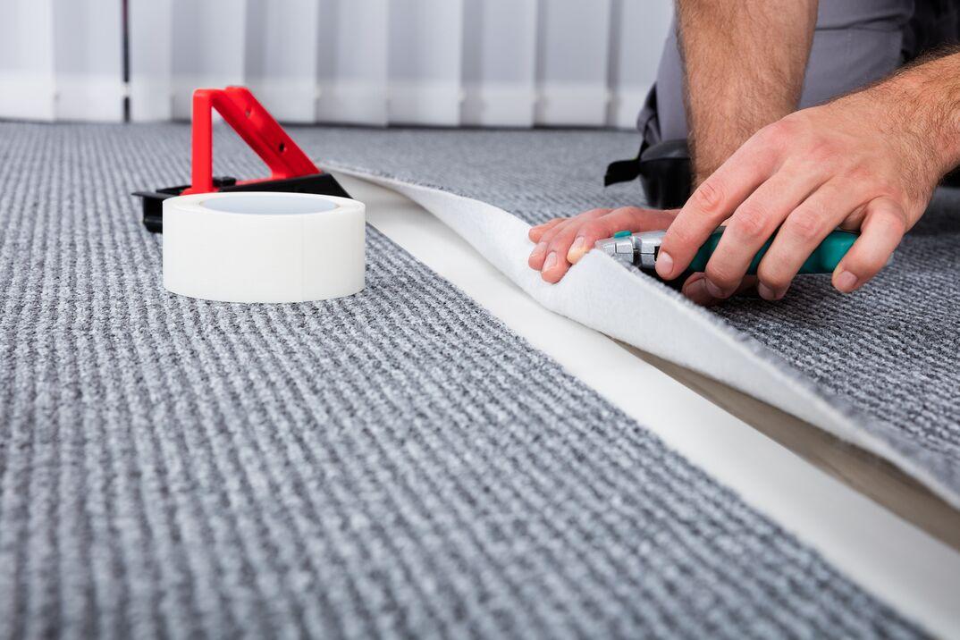 Carpenter s Hand Lying Carpet