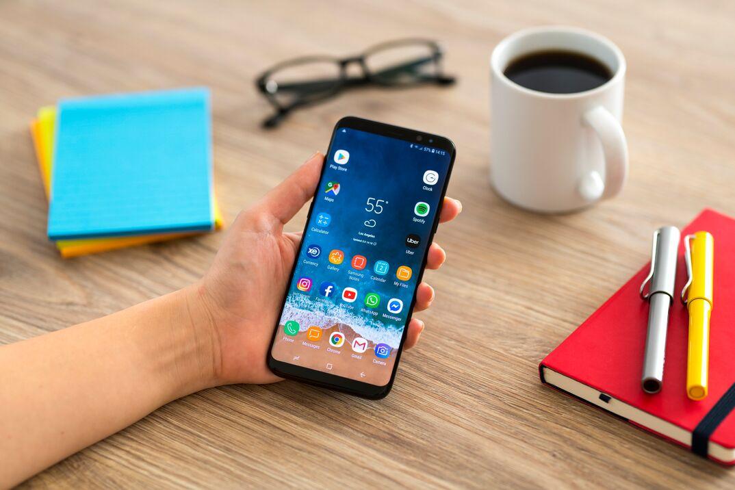 Using Samsung Galaxy smart phone