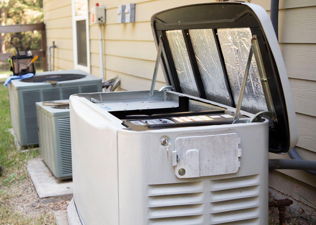 Whole home generator