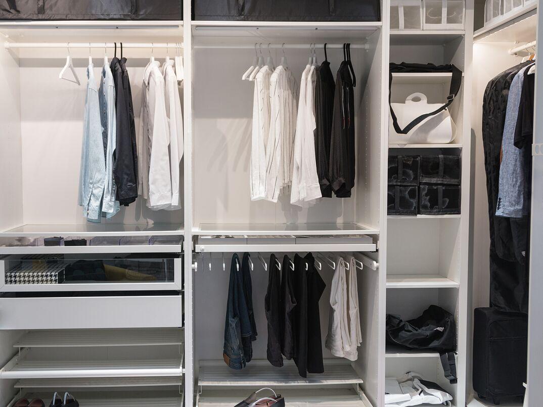 Wardrobe and closet order