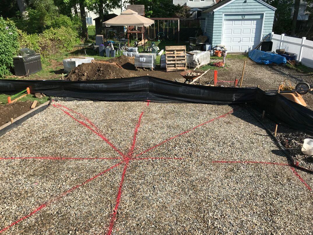 Backyard Patio Renovation