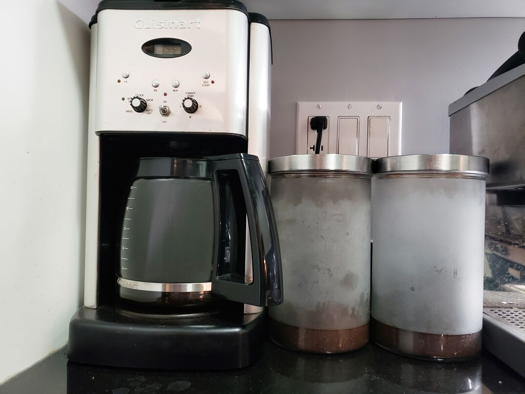 coffee maker on countertop