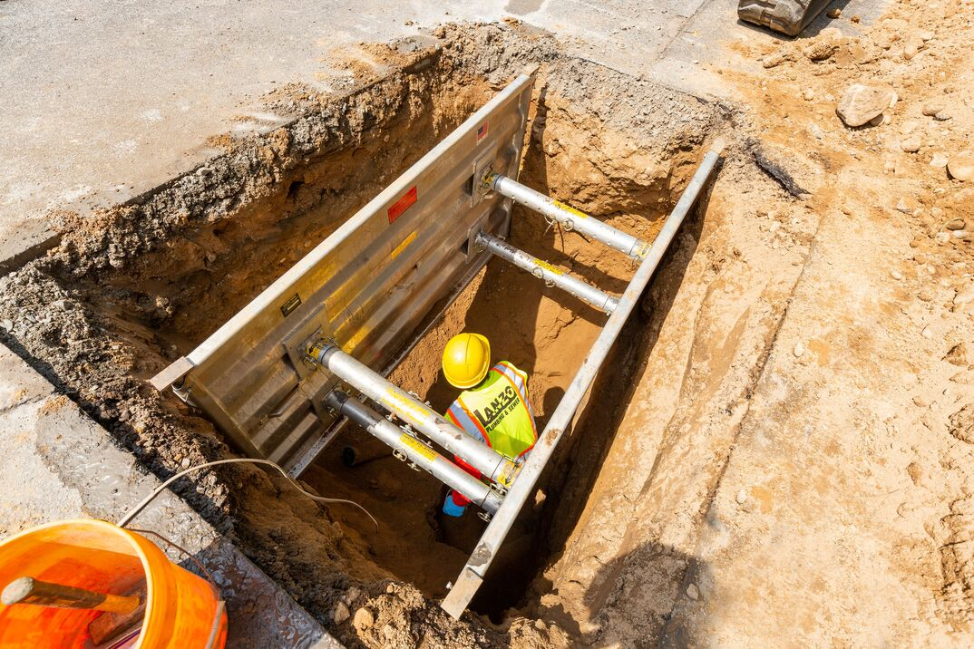 septic sewer line