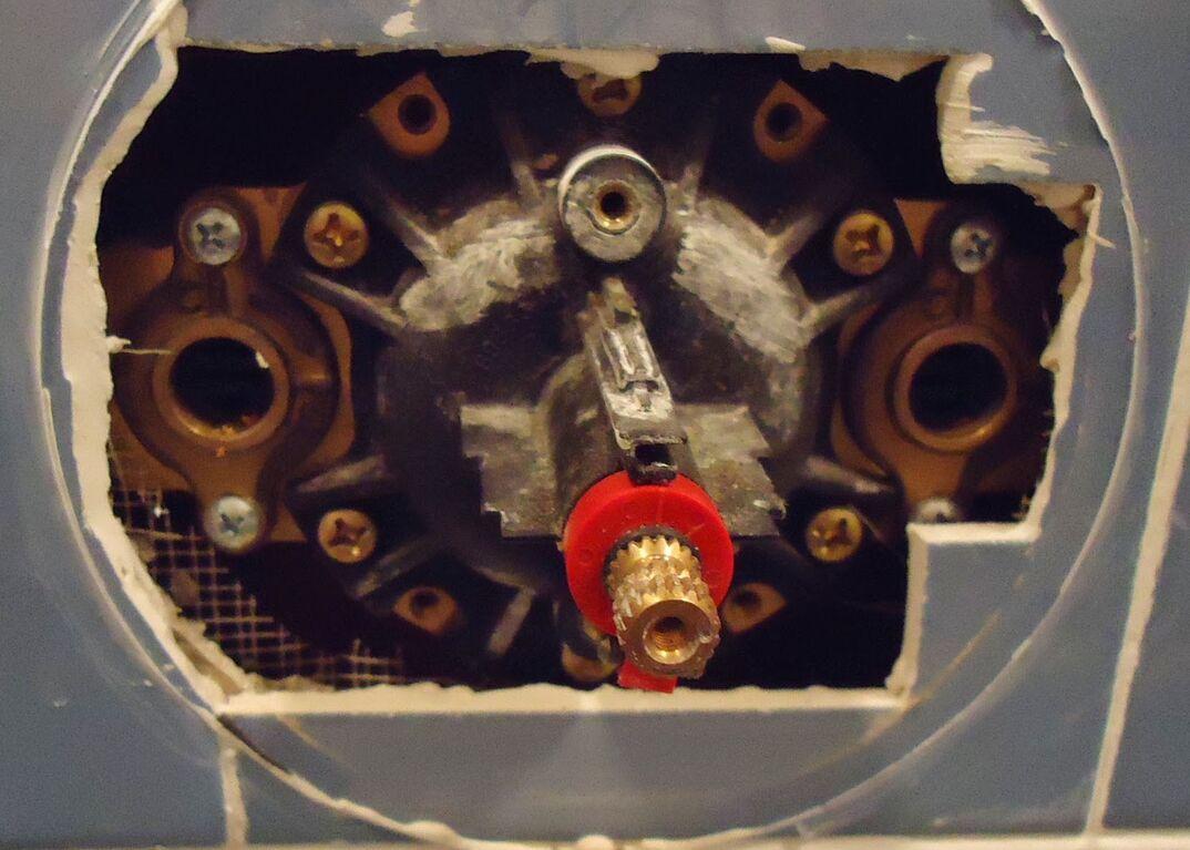 Shower diverter valve replacement